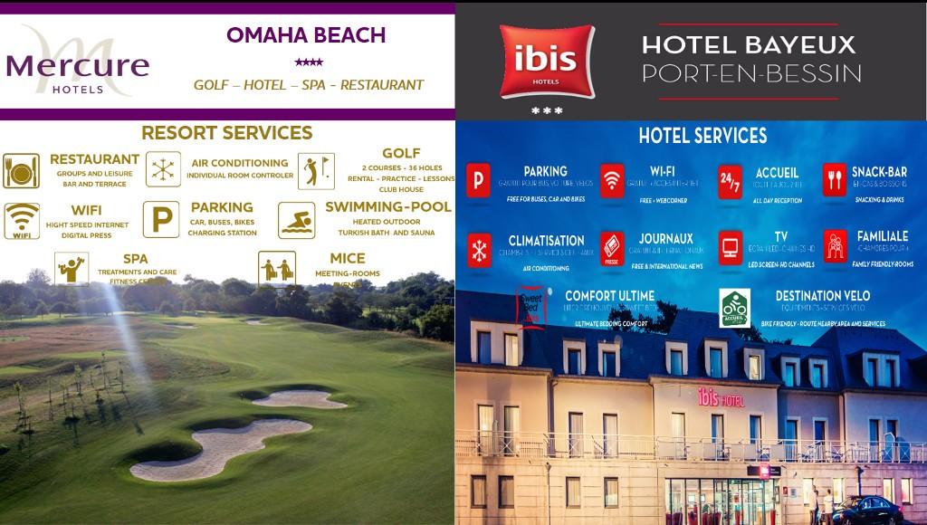 Hotel Ibis et Mercure Omaha Beach- Port-En-Bessin-Normandie